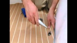 Video de instalacion de tarima sintetica en un barco para Foro Lema.mpg