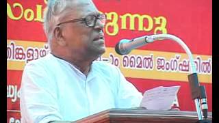 alappuzha v s achuthananthan speech about saritha s nair in election