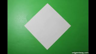 How To Make A Square Piece Of Paper For Origami (hd)