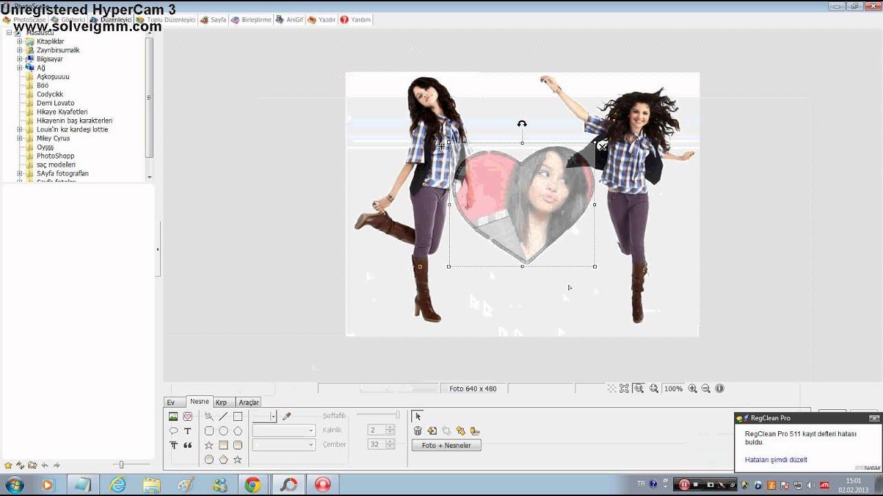 Как сделать фото в photoscape