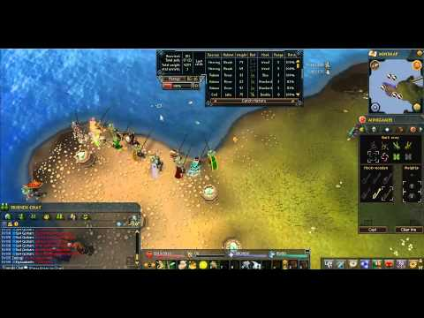 Runescape Fishing Flingers Guide Walkthrough