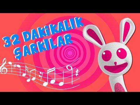 32 dakika çocuk şarkısı | Çizgi Film Tadında Çocuk Şarkıları | Sweet Tuti Bebek Şarkıları | Ninni