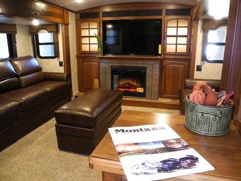 2014 keystone montana 3850fl front living five slides - Front living room fifth wheel used ...