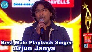 Varadhanayaka - SIIMA 2014 Kannada Best Playback Singer Male | Arjun Janya | Baite Baite Song | Varadhanayaka Movie