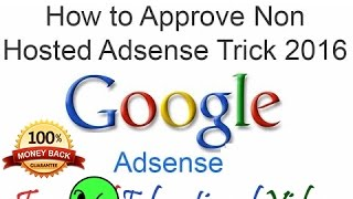 download lagu How To Create Google Adsense Non-hosted Account In Few gratis