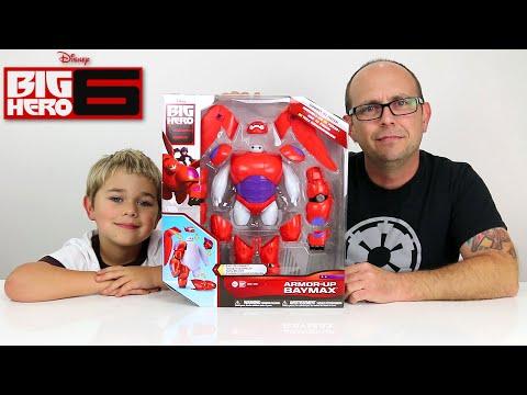 Disney Big Hero 6 - Armor Up BAYMAX Toy Figure Review