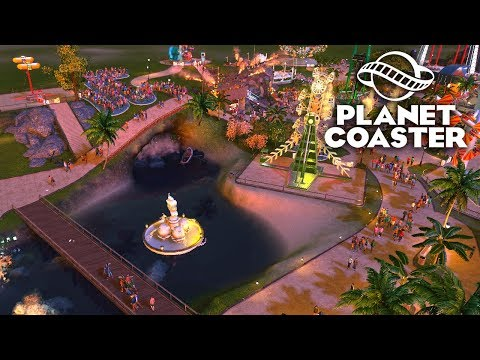 Planet Coaster - Обустройство парка! #8