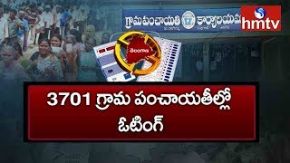 First Phase Telangana Gram Sarpanch Elections 2019 Completed  | hmtv