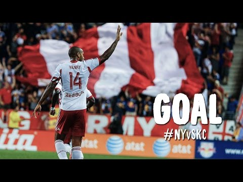 GOAL: Thierry Henry cracks a bullet into the back of the net | NY Red Bulls vs. Sporting KC