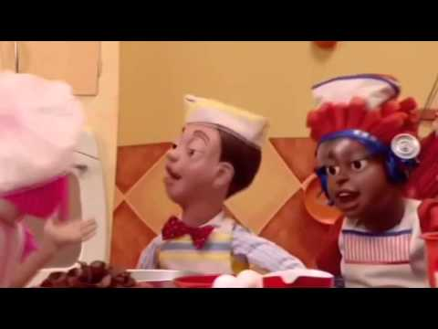 Lazy Town - Cooking by the Book [Slowed Down]