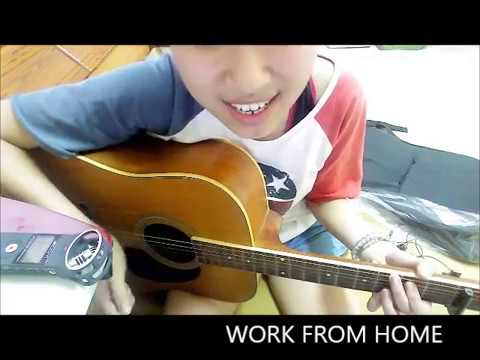 Work From Home - fifth harmony cover