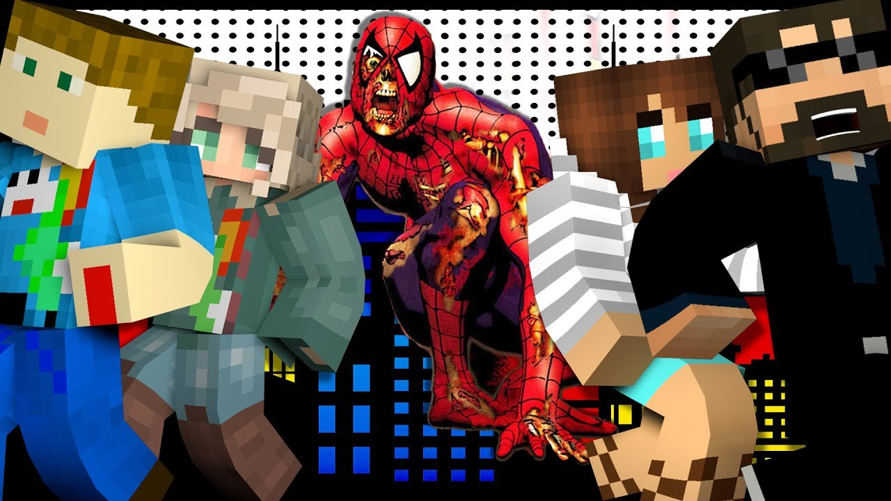 Minecraft: SPIDERMAN MURDER | MODDED MINI-GAME