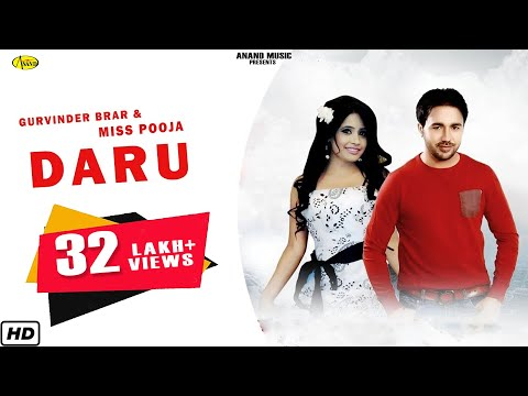 Daru Gurvinder Brar & Miss Pooja [ Official Video ] 2012 - Anand Music video