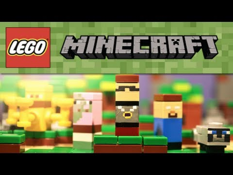 LEGO Minecraft : Additional Micromobs #5 - Showcase