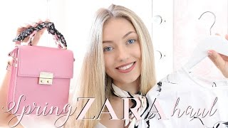 HUGE SPRING ZARA TRY ON HAUL | Freddy My Love