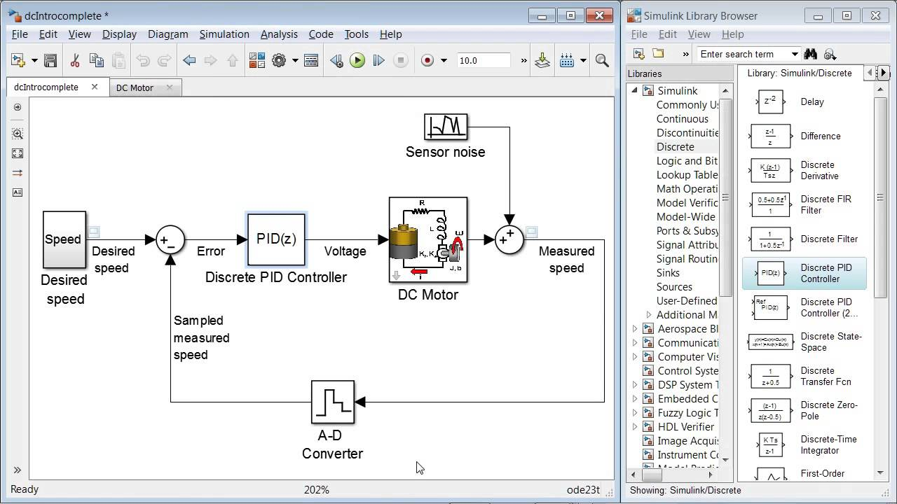 Pid Controller Design For A Dc Motor Previous Release