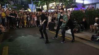 JHKTV] 홍대유나이트 강레오hong dae k-pop dance unite&kang leo bboom bboom