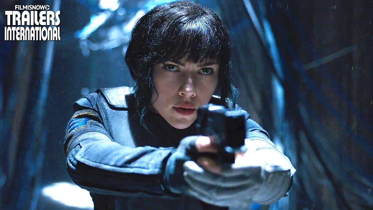 Ghost in the Shell starring Scarlett Johansson | International Teaser Trailers [HD]