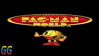 PS1 Pac Man World (Emulator) 1999 PLAYTHROUGH (95%)