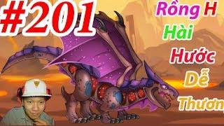 Chiến Binh Rồng Phép Thuật DRAGON CITY HNT choi game GAME NÔNG TRẠI RỒNG HNT Channel #201