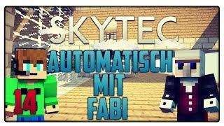 Minecraft SKYTEC #14   Die Automatisierung mit Minecrafter1905   Vicevice