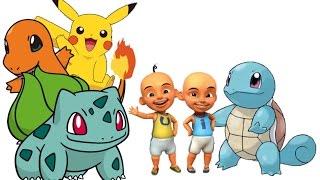 Lagu Cari Pokemon Versi Upin Ipin Keren Betul Betul Betul | Khanzahirah