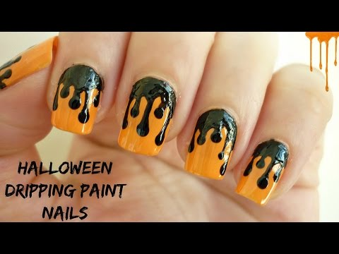 Dripping Paint Nail Art How To Save Money And Do It