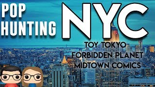NEW YORK CITY FUNKO POP & TOY HUNTING - OUR AMAZING ADVENTURE