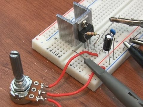 Building A Power Supply On Breadboard