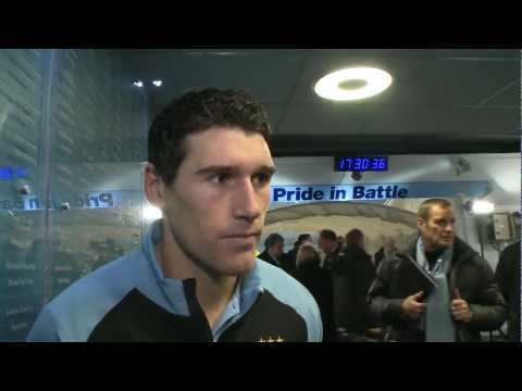 City 1-0 Reading: Gareth Barry on his late winner