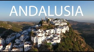 White Towns Andalusia Spain Gaucín Casares By Drone