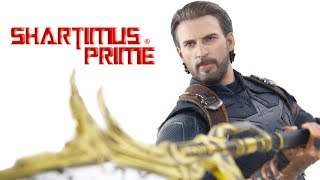 Hot Toys Captain America Avengers Infinity War Movie Promo Edition 1:6 Scale Figure Review