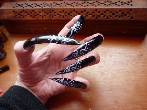 Extra Long Nails - For a Halloween costume