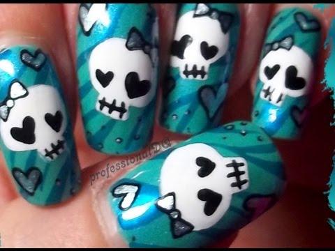 Sexy Skull Nails