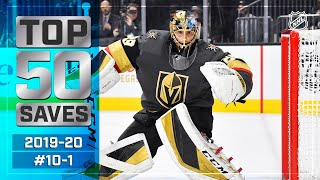 Top 50 Saves of the 2019-20 Regular Season: #10-1 | NHL