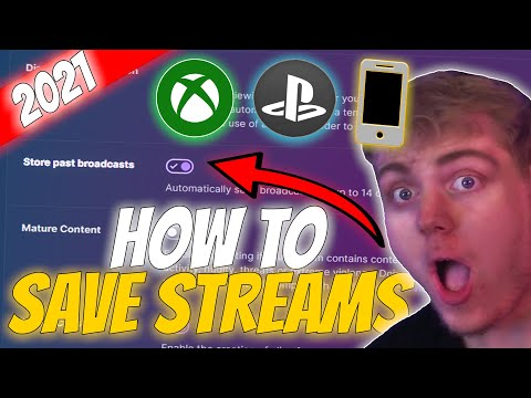 【EASY】 How to save Twitch streams on the XBOX ONE/PLAYSTATION!   𝐓𝐇𝐄 𝐎𝐍𝐋𝐘 𝐓𝐔𝐓𝐎𝐑𝐈𝐀𝐋 𝐘𝐎𝐔'𝐋𝐋 𝐍𝐄𝐄𝐃!