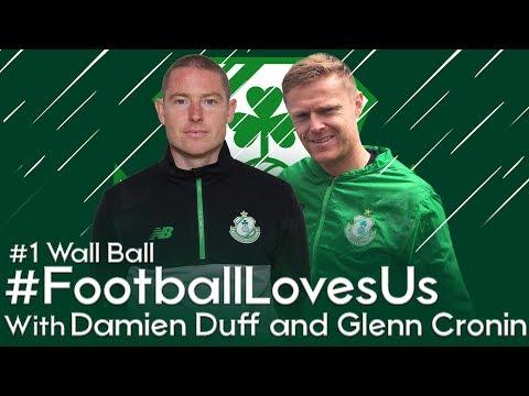 Shamrock Rovers #FootballLovesUs - #1 Wall Ball