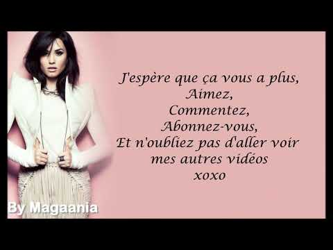 Demi Lovato - Lightweight Traduction française.