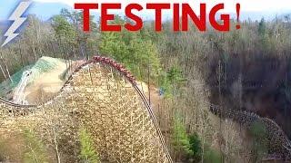 *Original* Dollywood Lightning Rod Test Run REAL