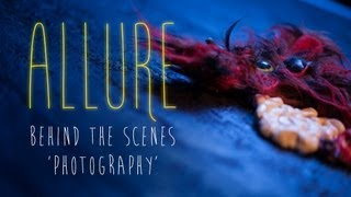 Allure - Behind the Scenes - Photography
