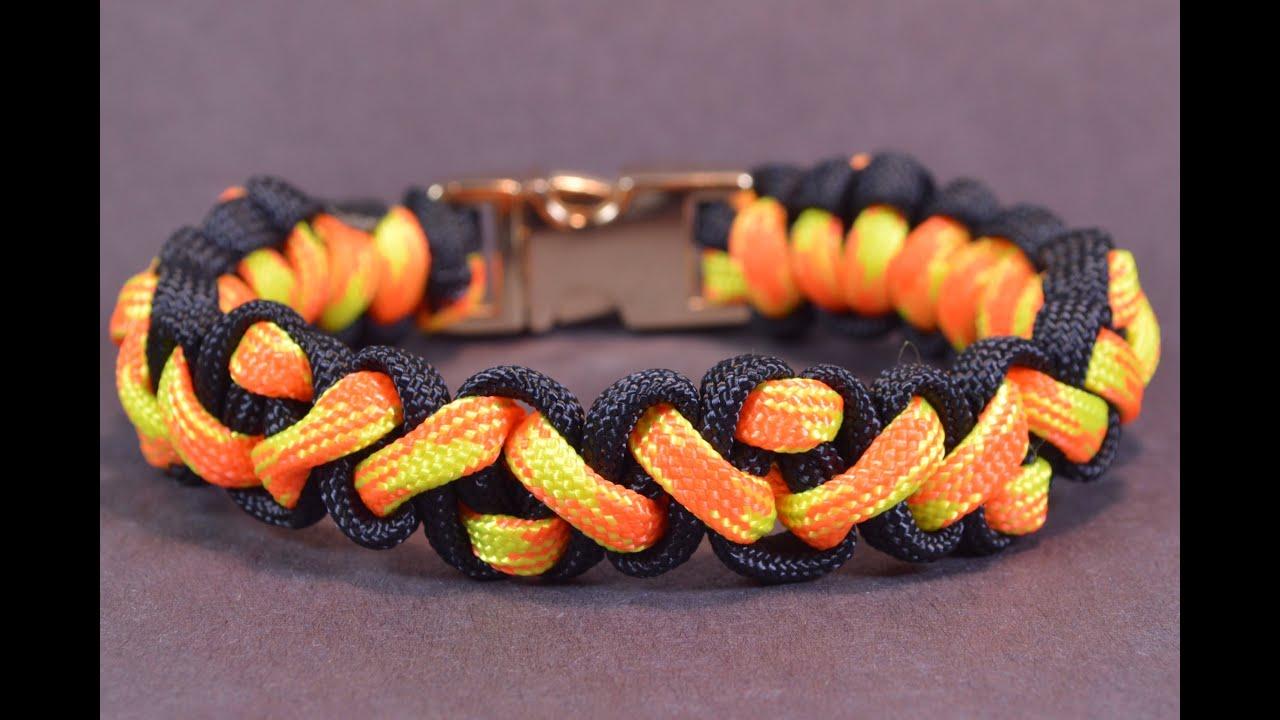How to make the quot navajo pattern quot paracord survival bracelet