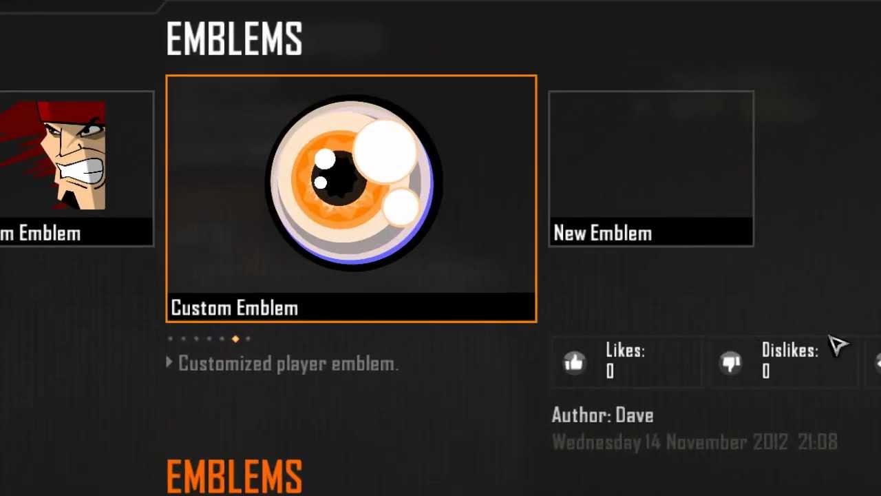 Bo2 Emblem Cool Eye Emblem