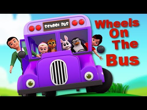 Wheels On The Bus | Bus Song | Nursery Rhymes For Children | Baby Songs By Junior Squad