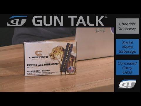 Social Media Bias; Concealed Carry Class; Cougar Guns  Gun Talk