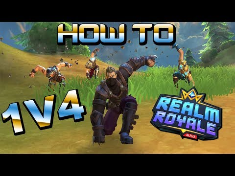 How To 1V4 In Realm Royale Every Time! (Tips And Tricks From A Pro!)