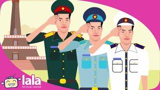 Chú Bộ Đội - Nhạc Thiếu Nhi Chú Bộ Đội - Nhạc Thiếu Nhi Việt Nam Hay Nhất