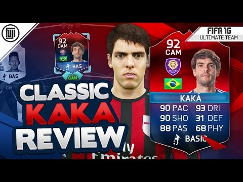 CLASSIC HERO iMOTM KAKA PLAYER REVIEW! (92) - FIFA 16 Ultimate Team