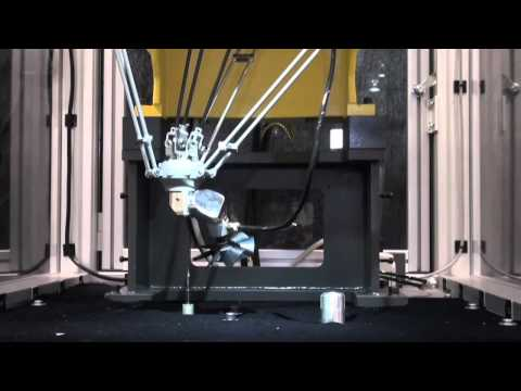 M-1iA Fan Blade Deburring Robot – FANUC Robotics Industrial Automation