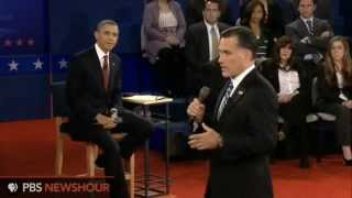 Watch the Full Second Presidential Town Hall Debate between Barack Obama and Mitt Romney