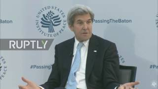 USA: Kerry addresses US bombing of Syrian troops during ceasefire